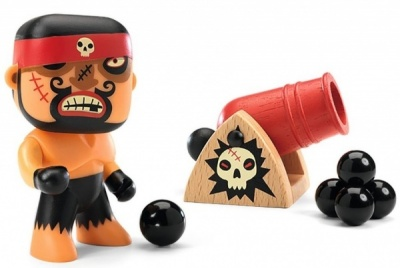 Djeco Arty Toys Pirates - Ric and Boumcrak DJ06834